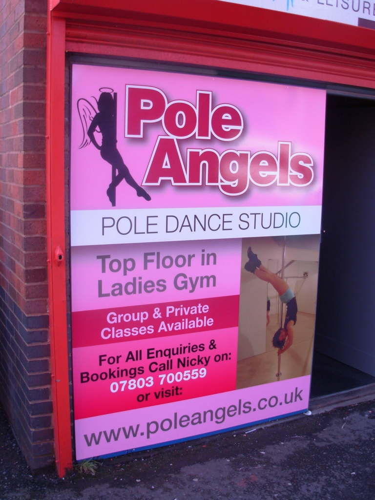 Pole Angels Sign