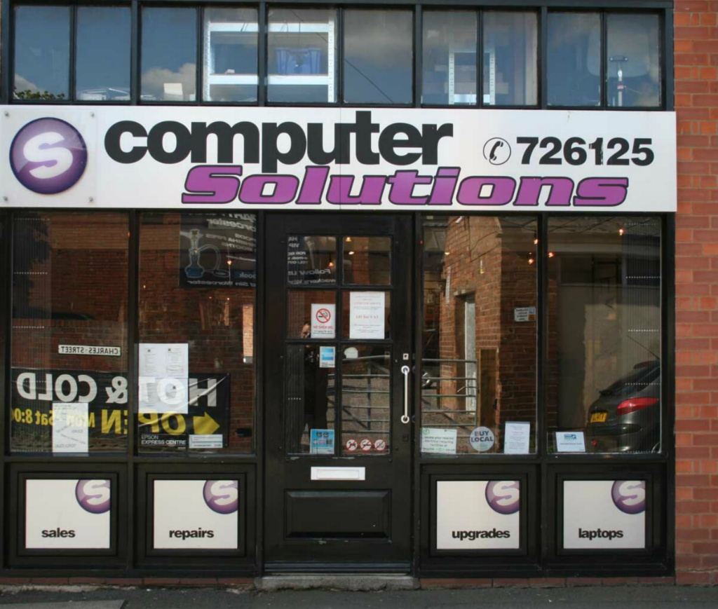 Computer Solutions Shop Front