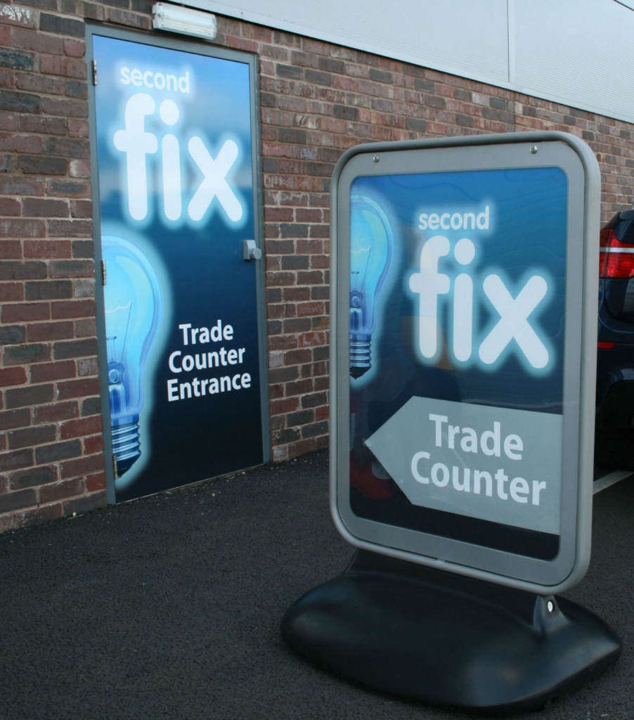 Second Fix Trade Counter