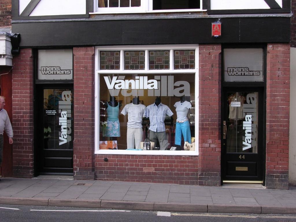 Vanilla Shop Window