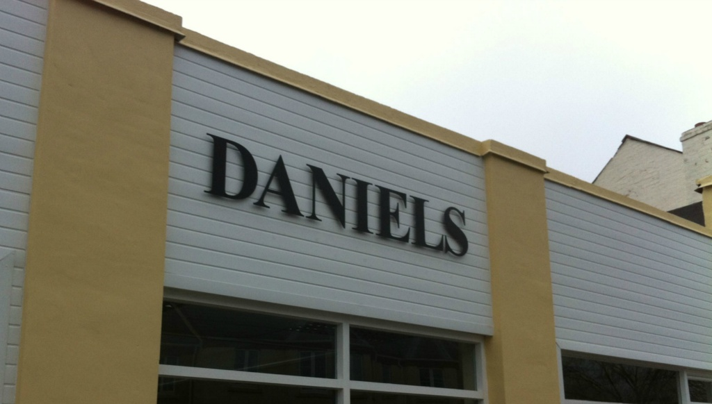 Daniels Stand Off Letters