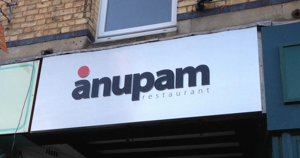 Anupam Tray Sign