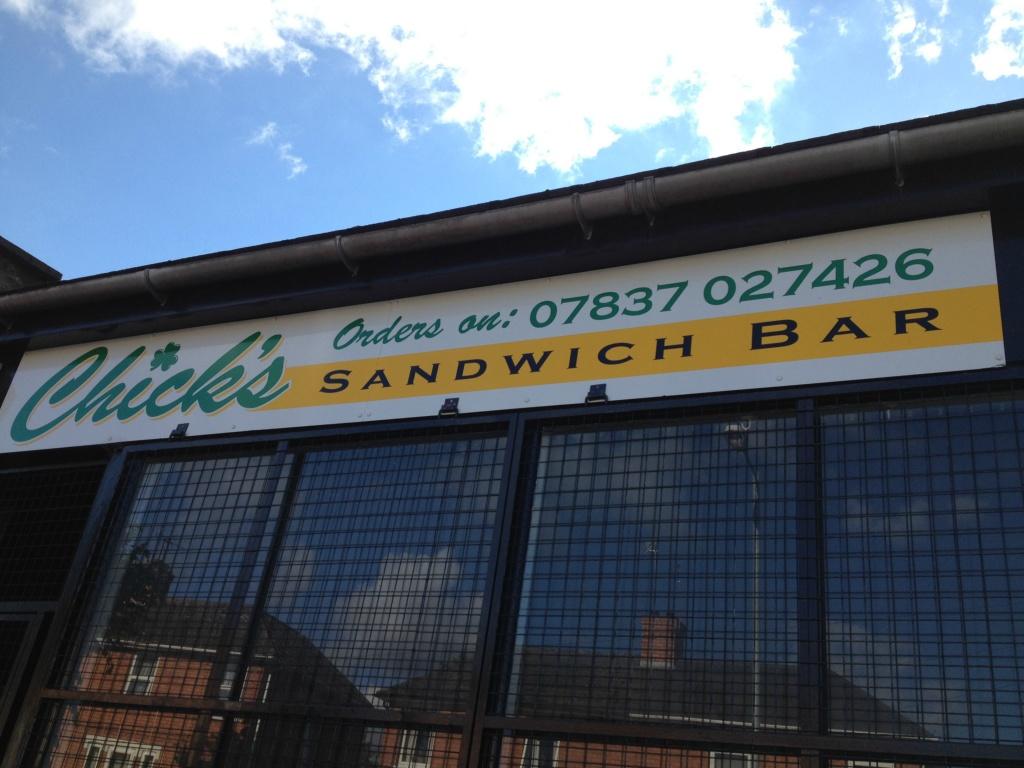 Chicks Sandwich Bar Facia