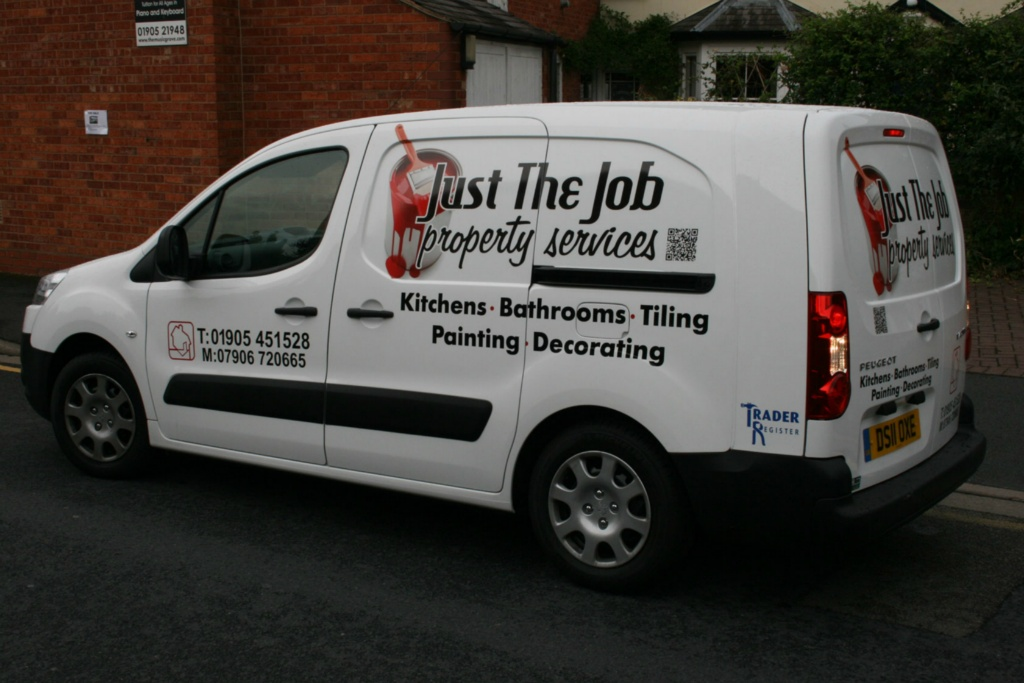 Just The Job Van