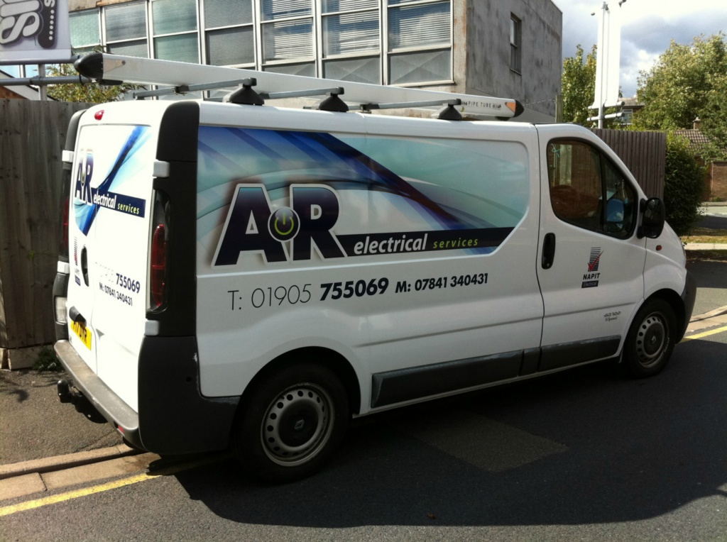AR Electrical Livery