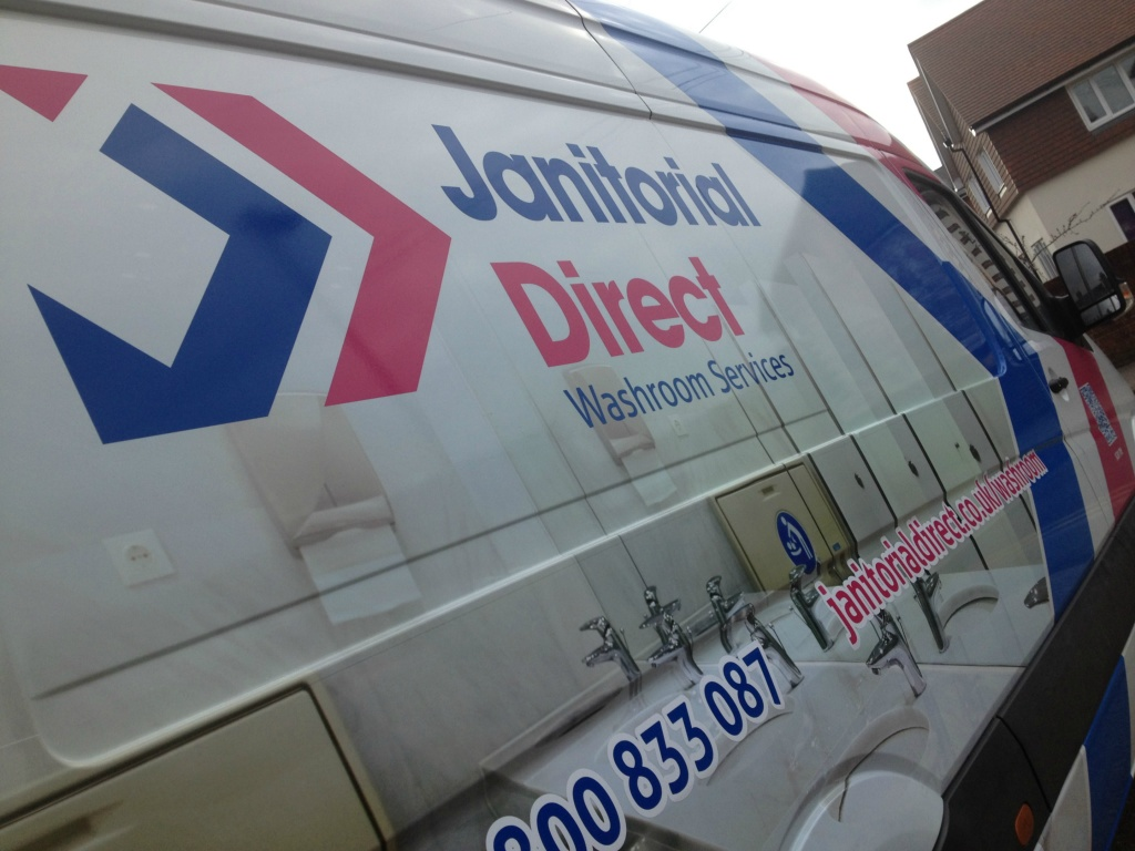 Janitorial Direct part wrap